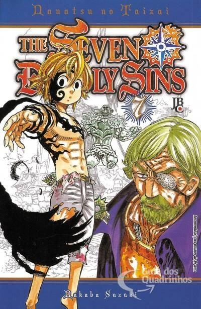 The Seven Deadly Sins Vol. 7, de Nakaba Suzuki