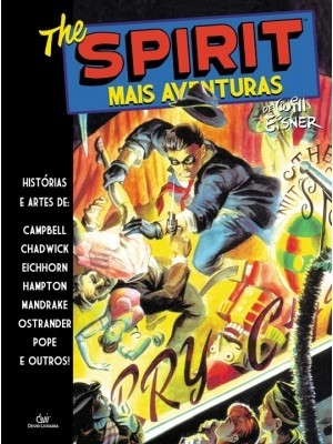 The Spirit - Mais Aventuras, de Will Eisner - Capa Dura