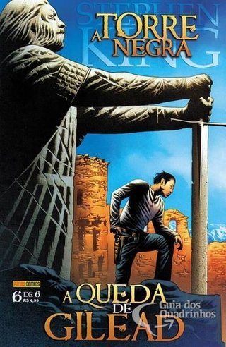 A Torre Negra - A queda de Gilead vol 6, de Stephen King, Peter David e Jae Lee