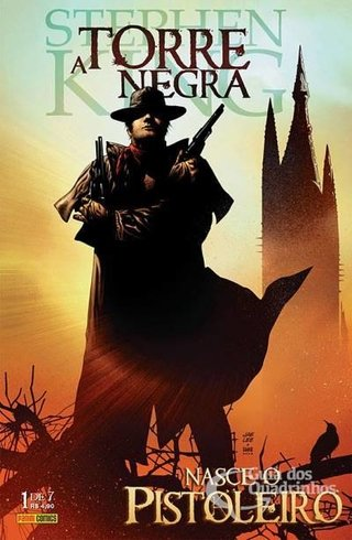 A Torre Negra - Nasce O Pistoleiro vol 1, de Stephen King, Peter David e Jae Lee