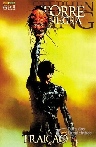 A Torre Negra - Traição vol 5, de Stephen King, Peter David e Jae Lee
