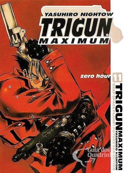 Pack Trigun Maximum  - 14 volumes - Série Completa