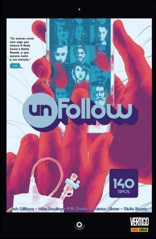 Unfollow – 140 Tipos, de Rob Williams e Mike Dowling