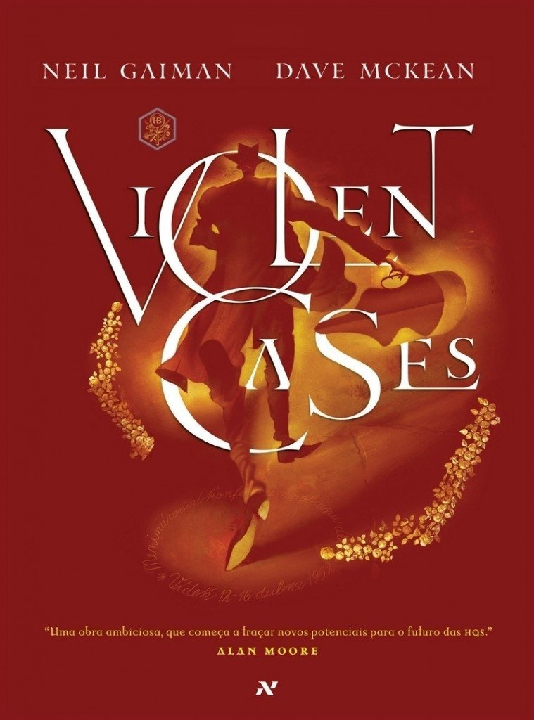 Violent Cases, de Neil Gaiman e Dave McKean