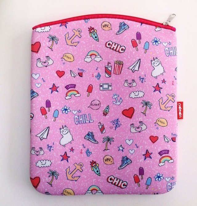 MUDA BAG STICKERS ROSA