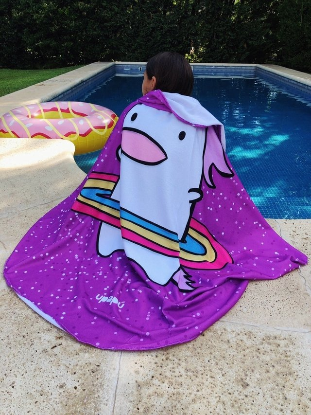 TOALLA  ESTAMPADO UNICORNIO EXCLUSIVA UPAPU! en internet