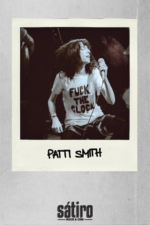 REMERA PATTI SMITH - FUCK THE CLOCK (STR007) en internet