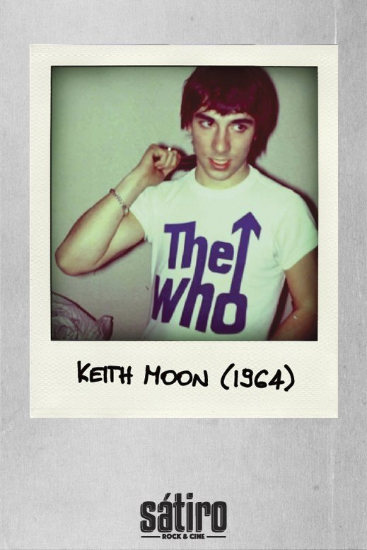 REMERA KEITH MOON - THE WHO (STR009) en internet