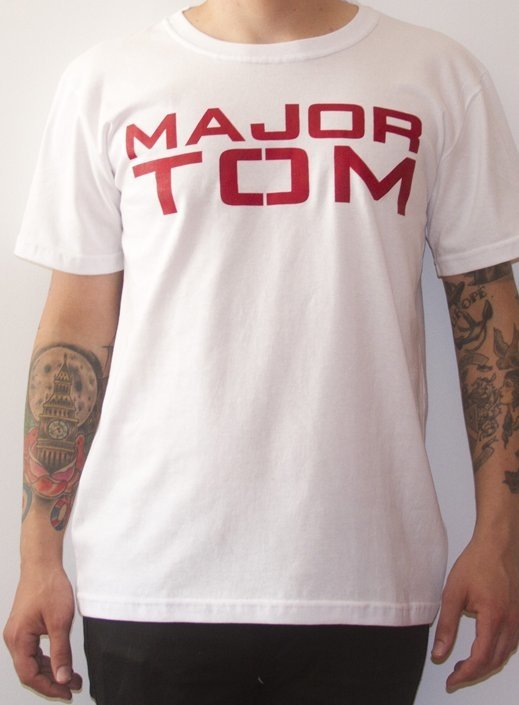 REMERA DAVID BOWIE - MAJOR TOM (STR004) - comprar online