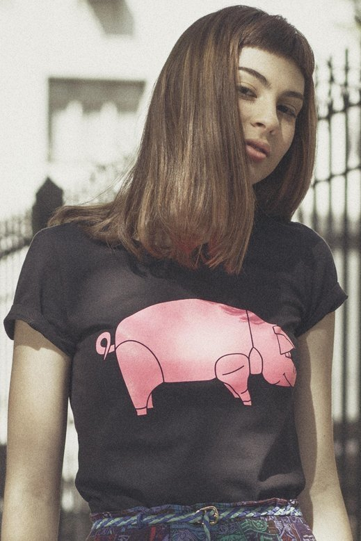 REMERA DAVID GILMOUR - PINK FLOYD ANIMALS TOUR (STR027)