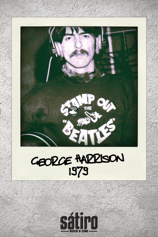BUZO GEORGE HARRISON - STAMP OUT THE BEATLES (STR032) - comprar online