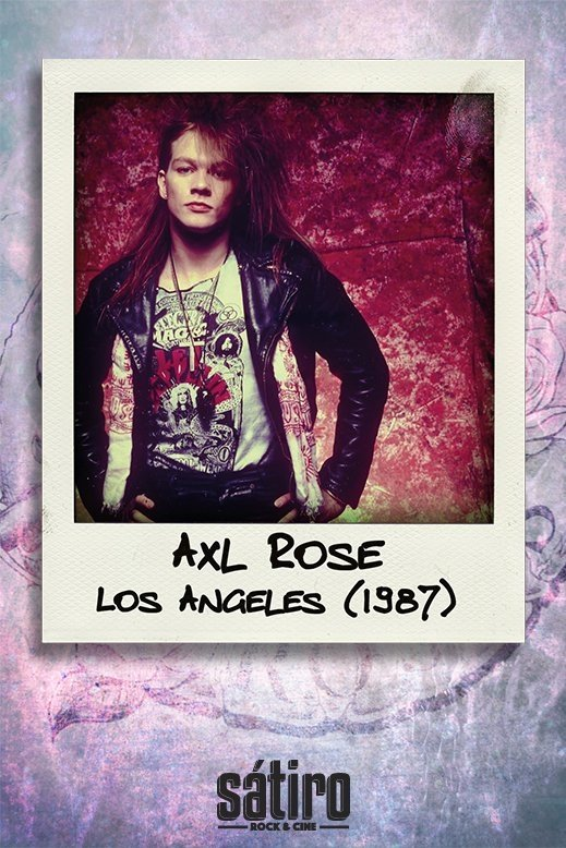 Imagen de REMERA AXL ROSE / GUNS N ROSES – LED ZEPPELIN (STR046)