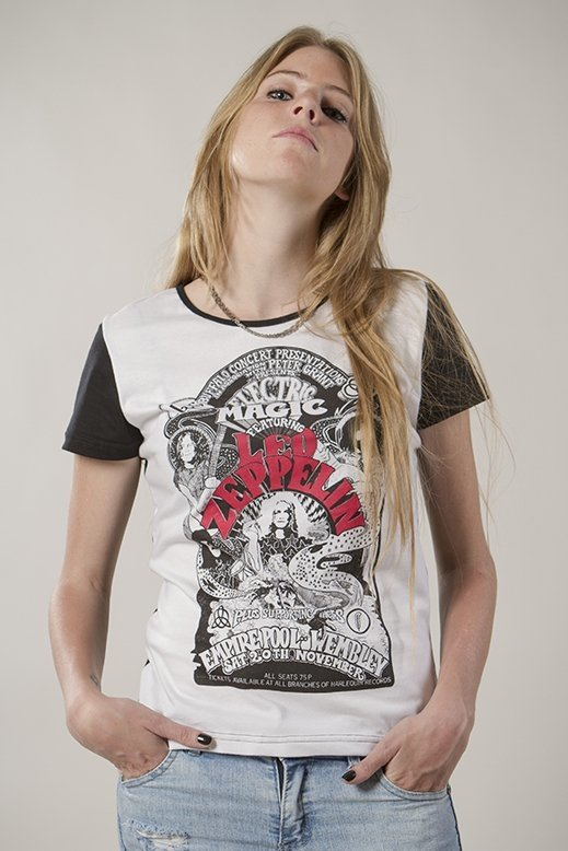 REMERA AXL ROSE / GUNS N ROSES – LED ZEPPELIN (STR046) - comprar online