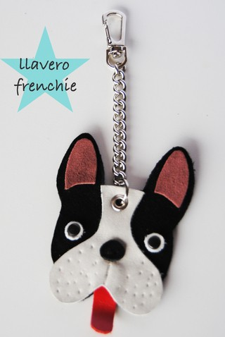 llavero frenchie