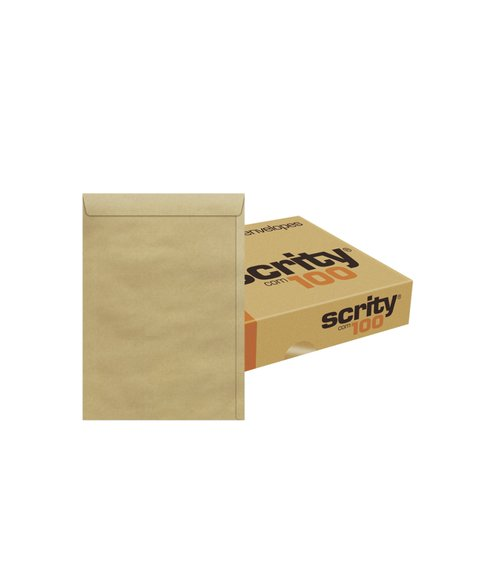 Envelope Kraft Natural 176x250 80grs - Cx. 100 unidades