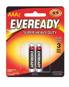 Pilas Eveready AAA x 2 unid
