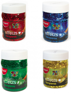 Tempera Maped Effect 200 ml (x color)