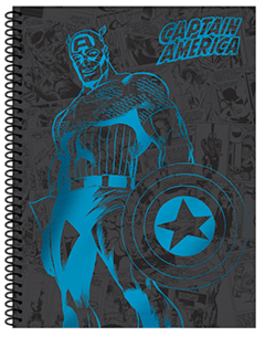 "Cuaderno A4 Mooving ""Marvel"""