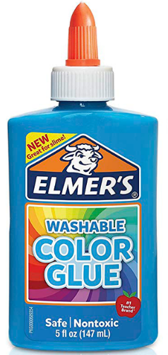 Elmers Color Glue Opaco (p/ slime)