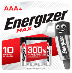 Pilas Energizer AAA x 4 unid