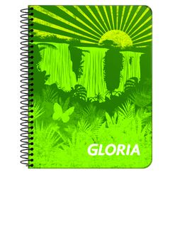Cuaderno Gloria Flexible C/E (84 hjs) - ABEL