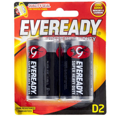 Pilas Eveready x 2 D2