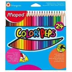 Lápices Maped x 24 colores