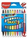 Marcadores Maped Duo Tip doble punta (849010)