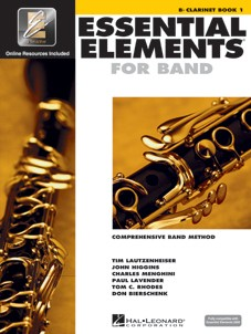 Essential Elements for Band - Clarinet - Book 1 - Interactive - Libro