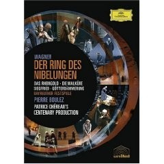 Wagner - Der Ring des Nibelungen: Pierre Boulez (Box set 8 DVDs)