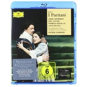 I Puritani - Bellini: The Metropolitan Opera / Anna Netrebko / Eric Cutler (Bluray)
