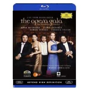 The Opera Gala - A. Netrebko / E. Garanca / R. Vargas (Bluray)