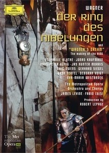 Wagner - Der Ring des Niebelungen: James Levine (8 DVDs)