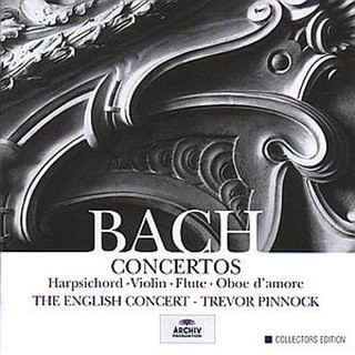 Bach Concertos - The English Concert - Trevor Pinnock (Boxset 5 CDs)