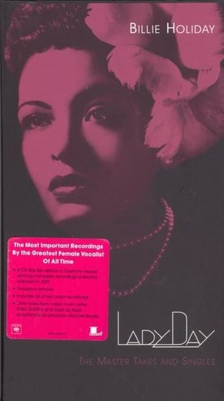 Billie Holiday - Lady Day - The Master Takes and Singles ( 4 CD )