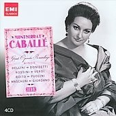 Monserrat Caballé - Sings Bellini / Donizetti / Rossini / Verdi / Puccini / Mascagni ...  (4 CDs) on internet