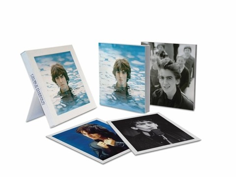 George Harrison - Living In The Material World - Edición limitada Deluxe (2 DVD+Bluray+CD+Book+Litografías+Marco)
