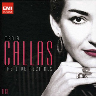 Maria Callas: The Live Recitals (Box set - 10 CDs)