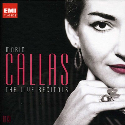 Maria Callas - The Live Recitals (10 CDs)