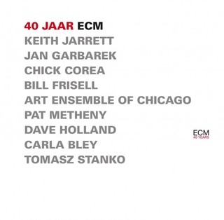 40 jaar ecm Jarrett / Garbarek / Corea / Metheny / Holland   40 Jaar ECM (Box  40 jaar ecm