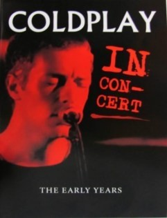 Coldplay - In Concert - The early years - DVD