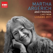 Martha Argerich and Friends: Live from Lugano 2011 (3 CDs)
