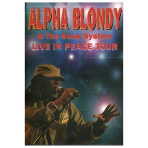 Alpha Blondy: Live in Peace Tour - DVD