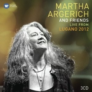 Martha Argerich and Friends - Live from Lugano 2012 (3 CDs)
