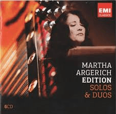 Martha Argerich: Solos & Duos (6 CDs)