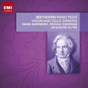 Jacqueline du Pré / Daniel Barenboim / Pinchas Zukerman: Beethoven - Piano Trios - Violin and Cello Sonatas (9 CDs)