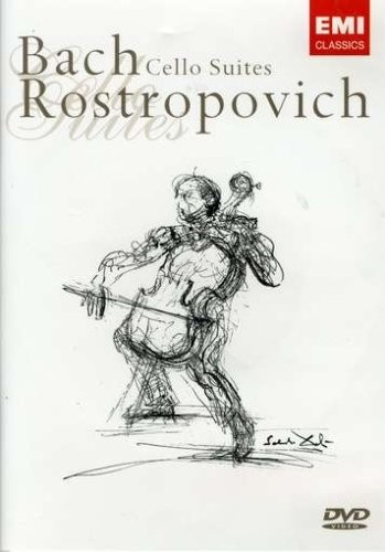 Rostropovich - Bach Cello Suites (2 DVDs)