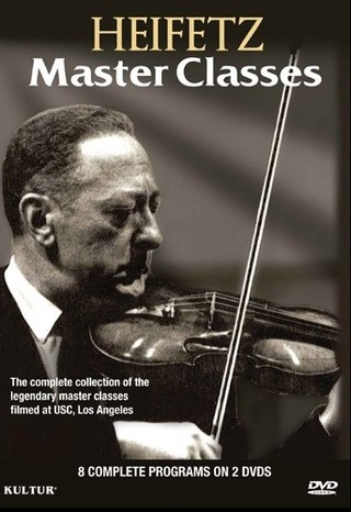 Heifetz - Master Classes - (2 DVDs)
