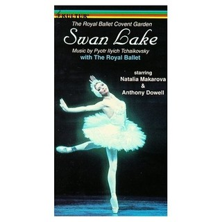Swan Lake - Tchaikovsky - Natalia Makarova / The Royal Ballet - DVD
