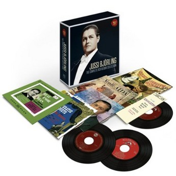 Jussi Björling - The complete RCD álbum collection - Box Set 14 CD